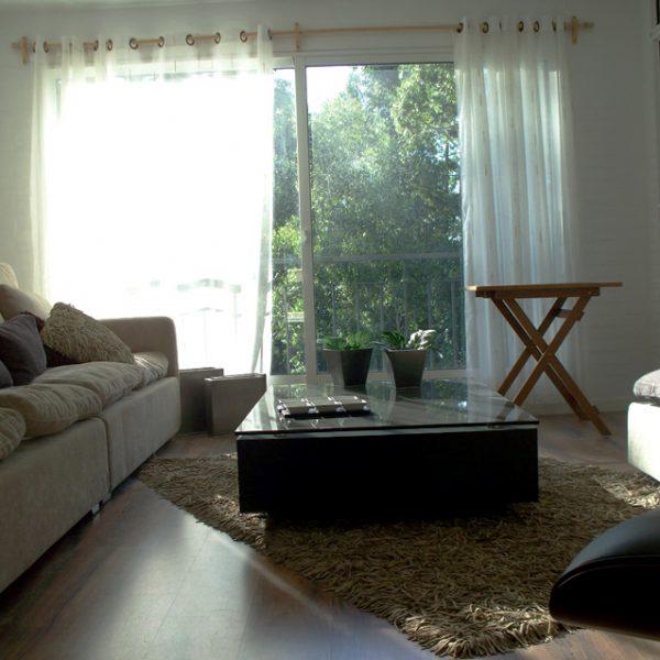 Apartamento amueblado - living