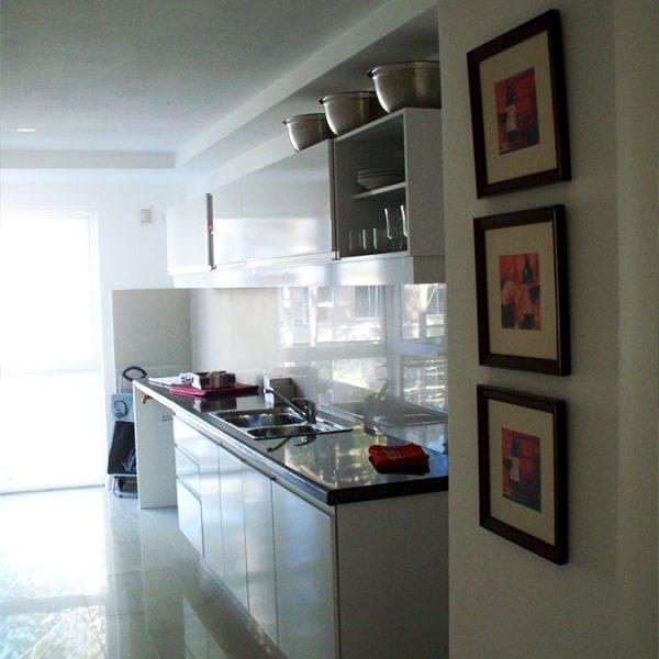 Apartamento amueblado - cocina