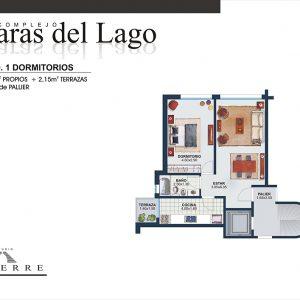 Plano de venta – Torre C – 1 dormitorio