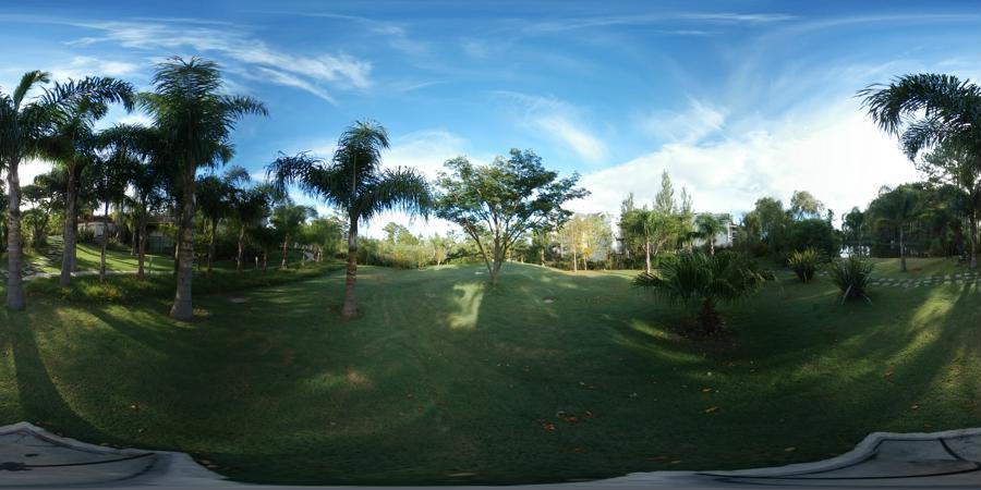 Parque del jardín